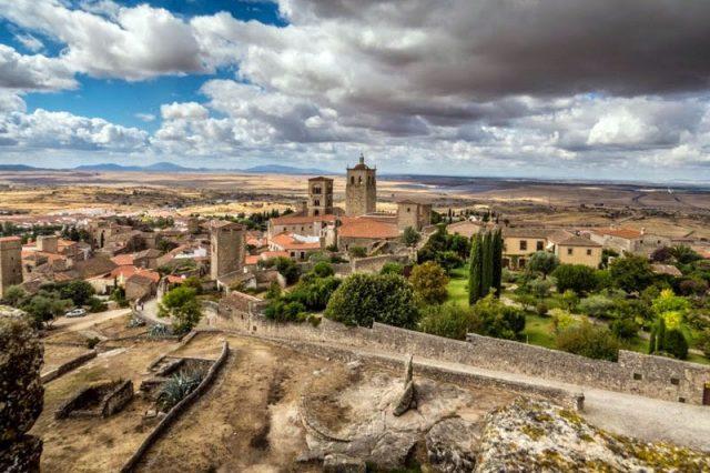 Trujillo desde el castillo